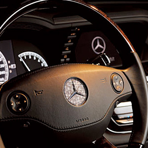 Luxury Steering Crystal Plate (GK-101)